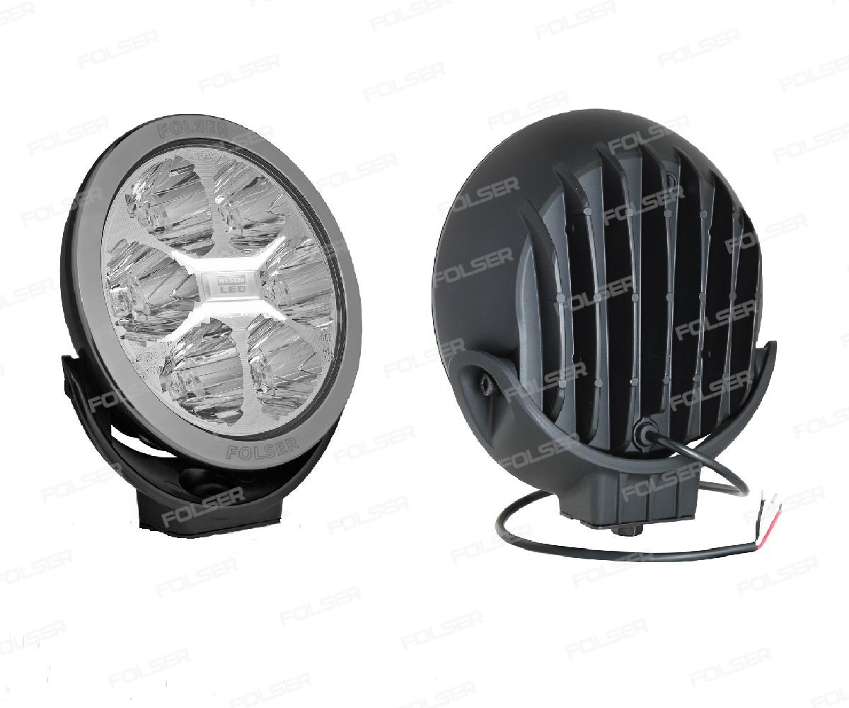 HALOGEN D-SIĘŻNY LED 12-24V 3W/27W LC25   FI180