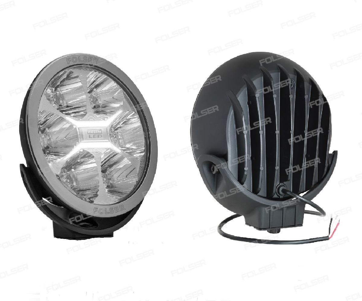 HALOGEN D-SIĘŻNY LED 12-24V 3W/27W LC50   FI220